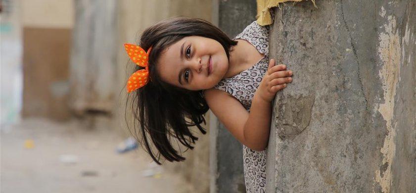 加沙地带孩童的周末时光